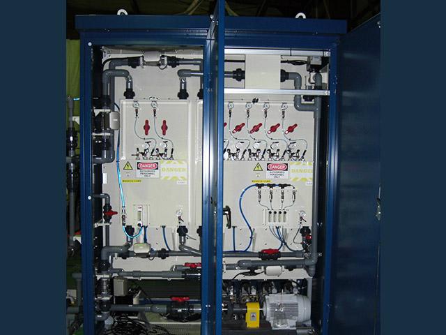 排水 標準活性汚泥法処理 内部